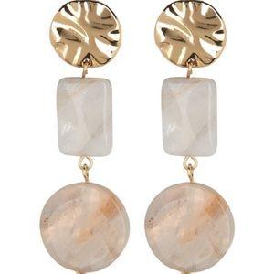 Halogen Double Drop Earrings
